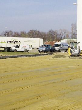 Pflasterarbeiten Gemüse Meyer